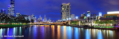 Melbourne City Lights, Victoria, Australia