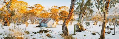 Howitt Hut, Alpine National Park, Victoria, Australia