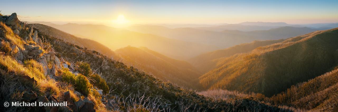 On the Razorback, Mt Hotham, Victoria, Australia