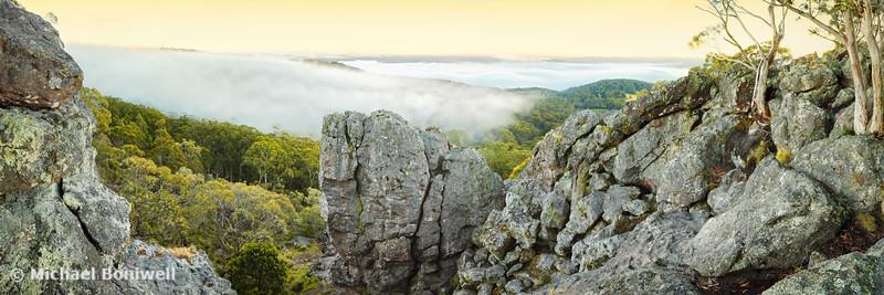 Mount Macedon Dawn, Victoria, Australia