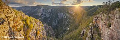 Little River Gorge, Snowy River National Park, Buchan, Victoria, Australia